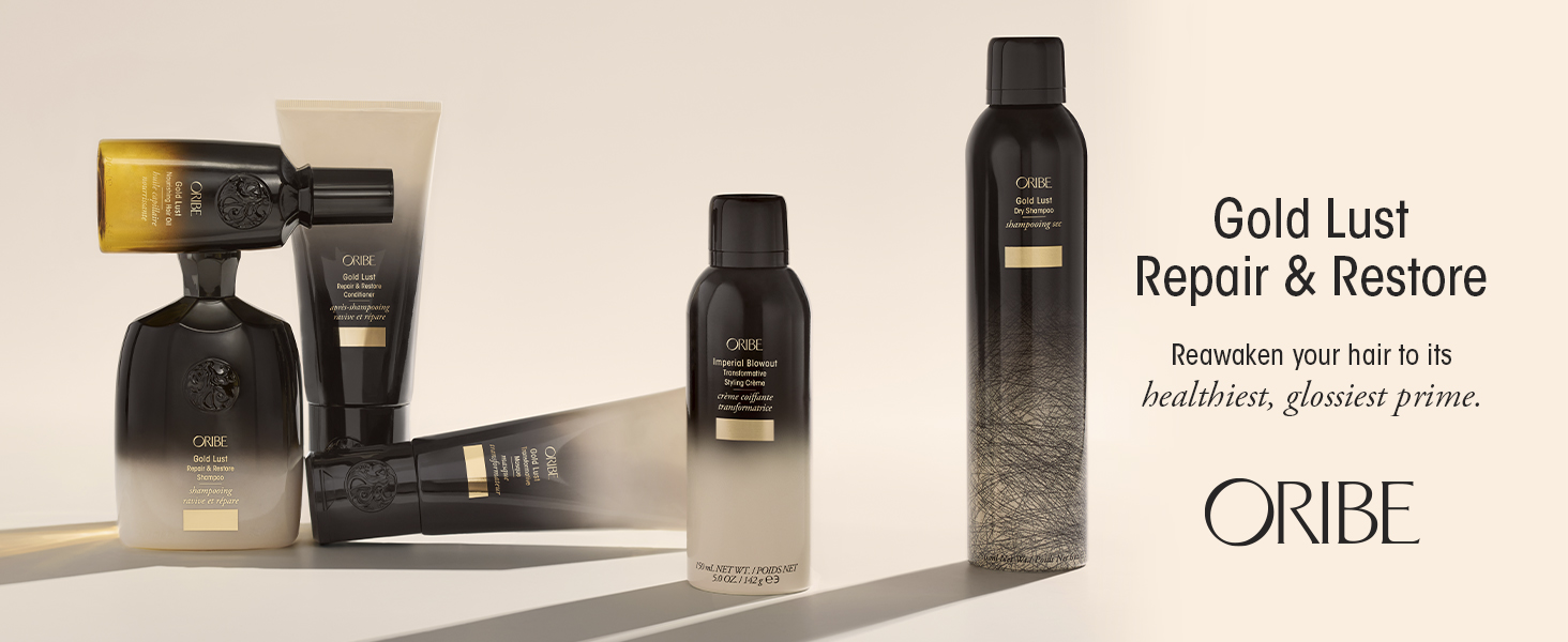 Gold Lust Repair & Restore Collection. Reawaken your hair to its healthiest, glossiest prime.