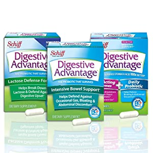 Daily Probiotic Gummies, Digestive Advantage (80 count in a bottle), 100X Better Survivability vs Yogurt & Leading Probiotics