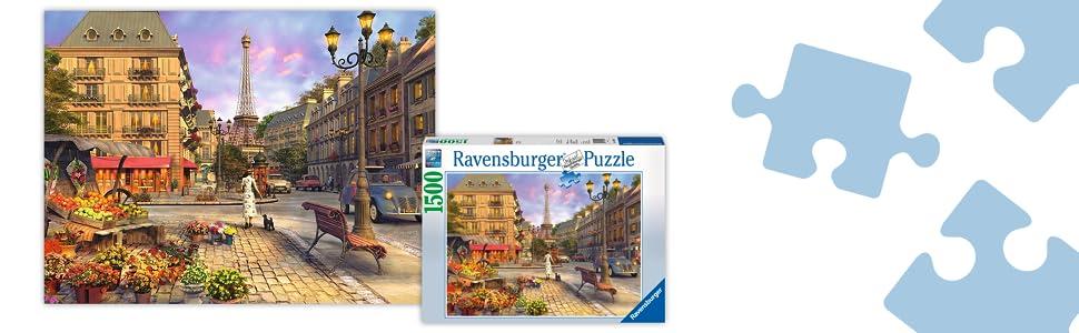 Sonstige In Paris 1500 Piece Puzzle