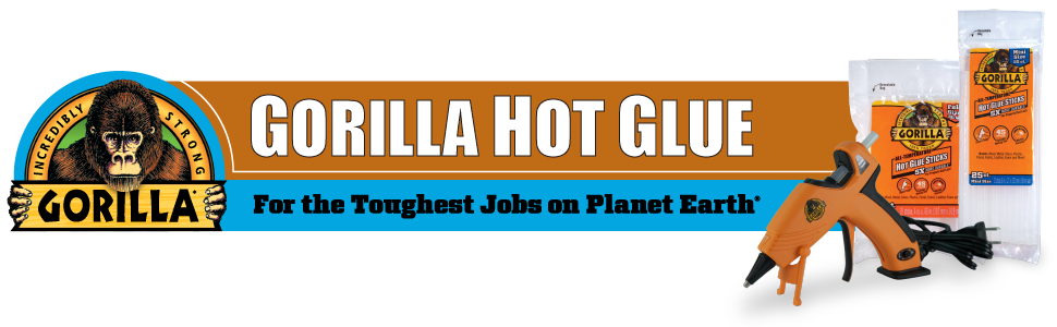 Gorilla Glue Hot Glue Stick for the toughest jobs on planet earth