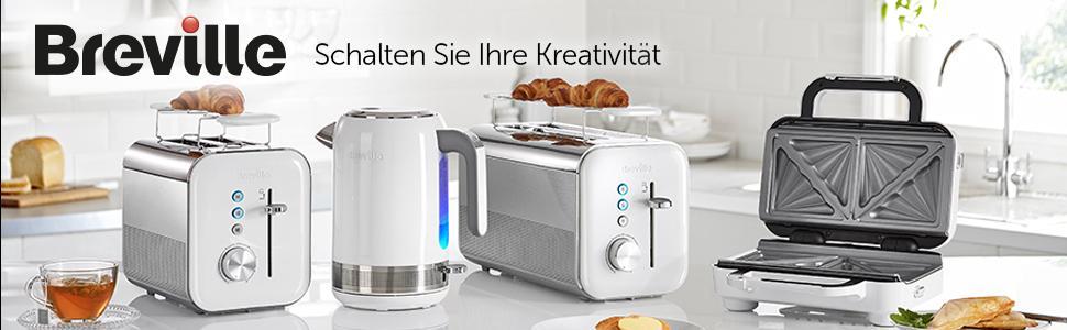 white,kettle,breville,brevil,wasserkocher,Edelstahl,weiß,Hochglanz,toaster