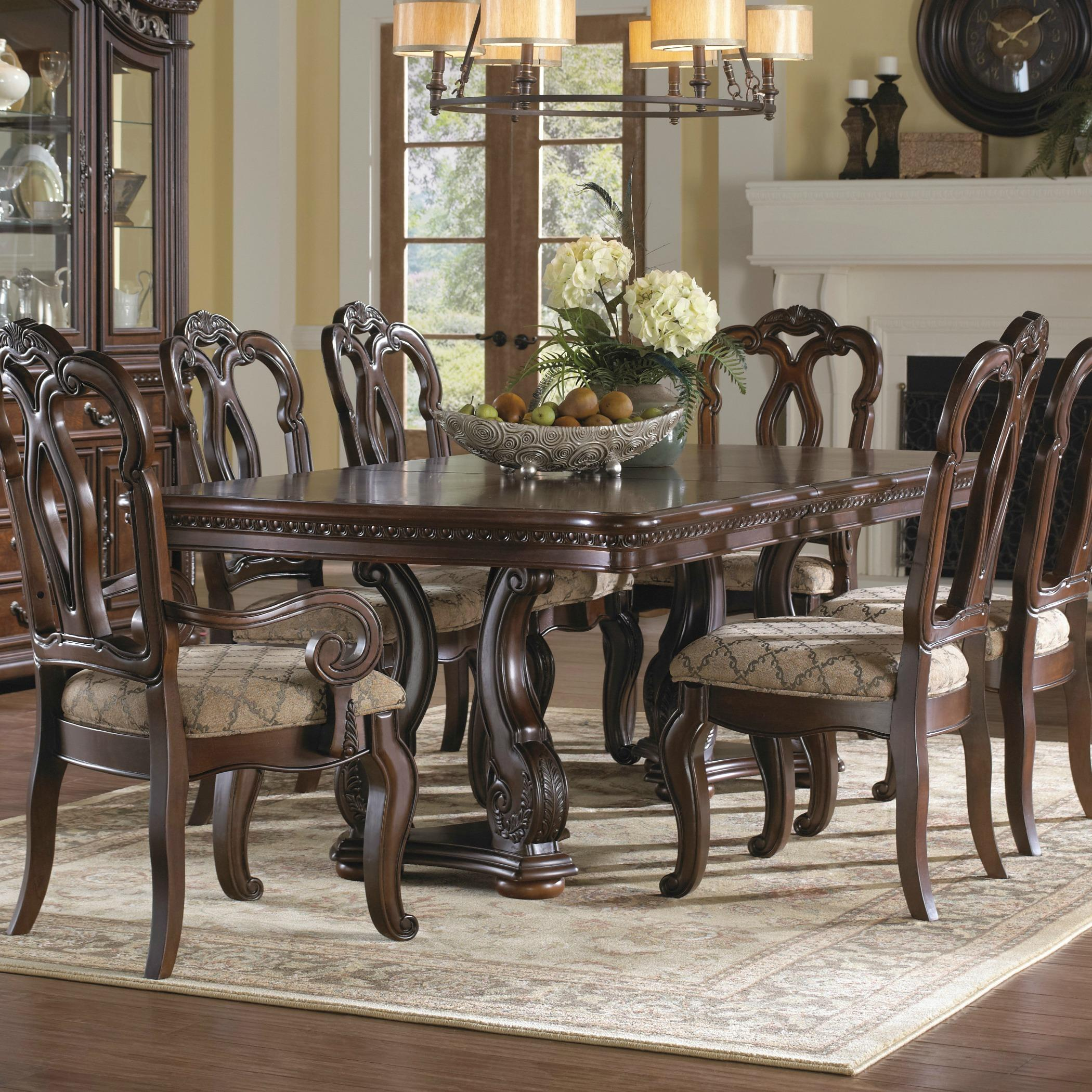 Pulaski San Marino Pedestal Table