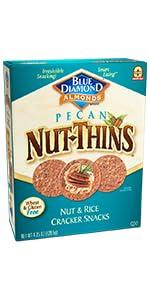 Nut-Thins Cracker Crisps, Pecan