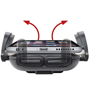 Universal Car Air Vent Mount Phone Holder for iPhone X samsung galaxy note google pixel smartphones