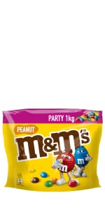 M&M'S;Knabber;Mars;Schokolade;Peanut