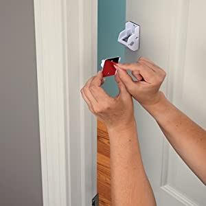 baby safety household proofing home child locks door peel and stick no tools necessary pinch guard