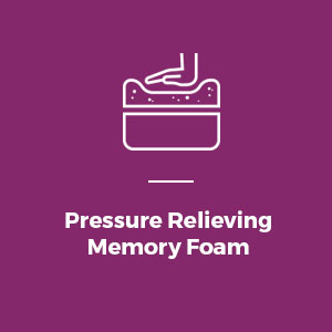 Pressure Relieving Memory Foam