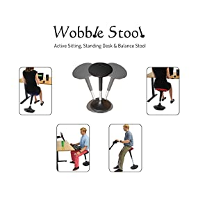 Wobble Stool best active sitting standing desk perching perch leaning stool