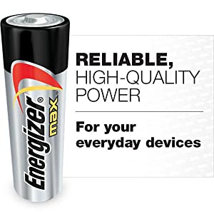 Energizer MAX, Reliable High-quality power for everyday devices