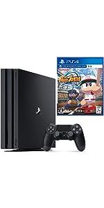 PlayStation 4 Pro ジェット・ブラック 1TB + 実況パワフルプロ野球2018 セット