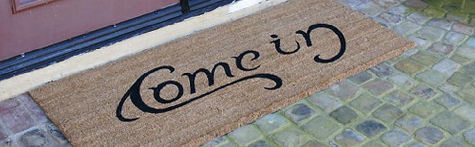 Coir fiber mat