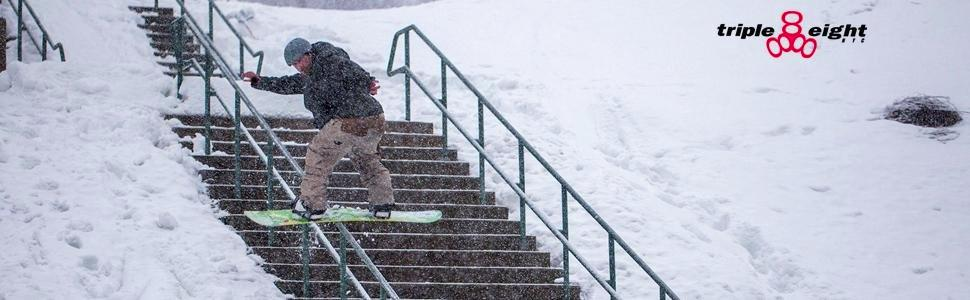 Triple Eight Undercover Snow Wrist Pads