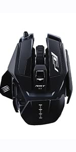 The Authentic R.A.T. 8+ Optical Gaming Mouse