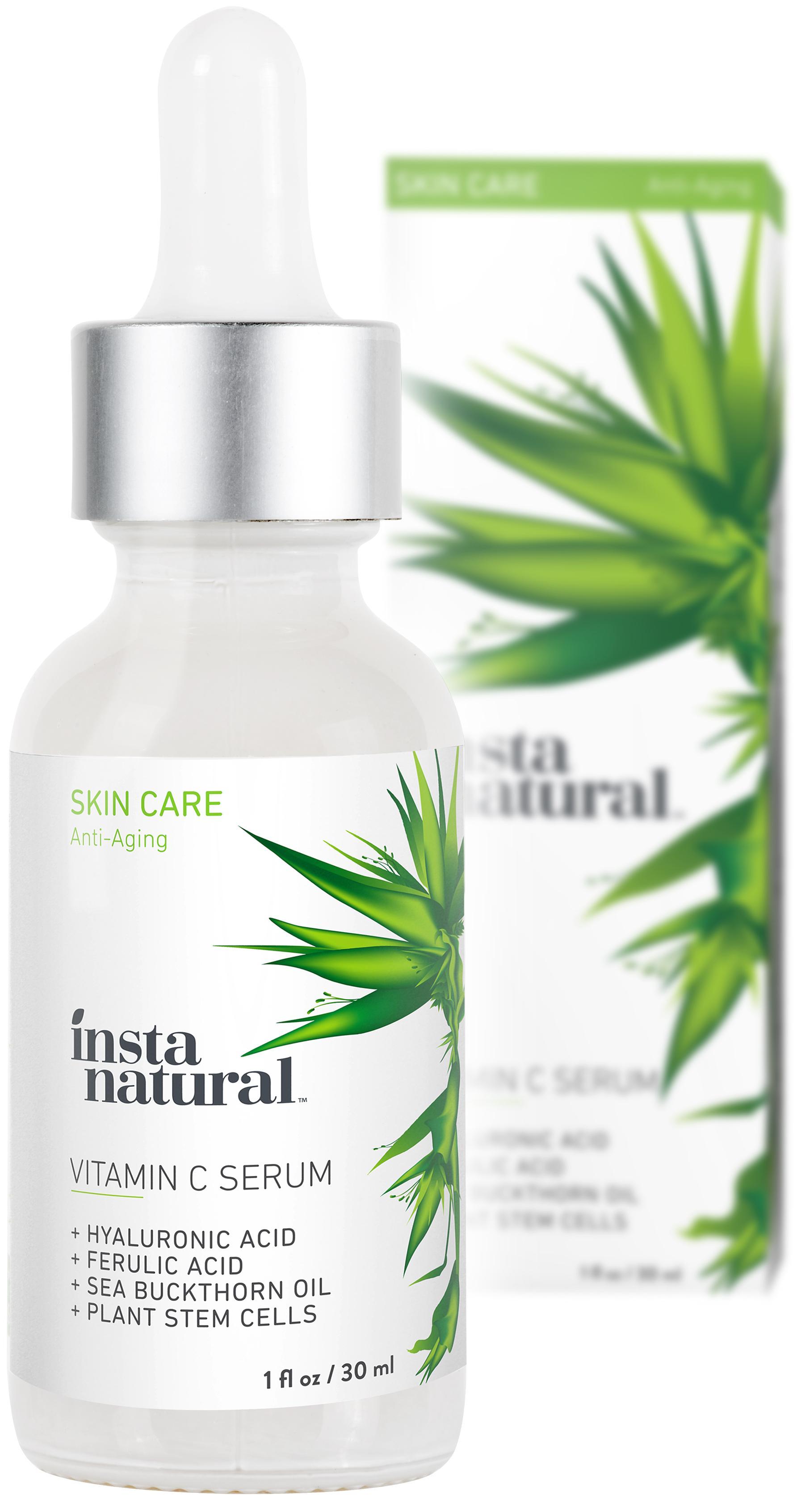 Amazon.com: InstaNatural Vitamin C Serum with Hyaluronic Acid & Vit E