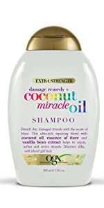 damage remedy + coconut miracle oil shampoo.  ultra-rich repairing blend to repair, soften, revive