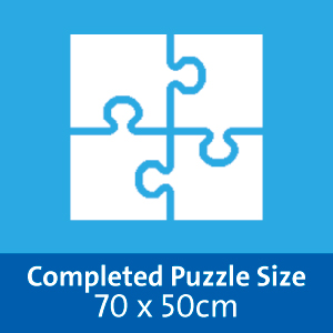 Completed Puzzle Size