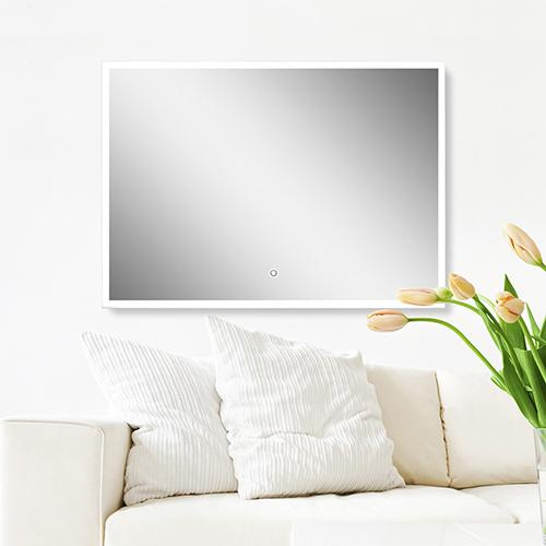 Amazon Com Ove Decors Saros Led Lighted Mirror With Touch