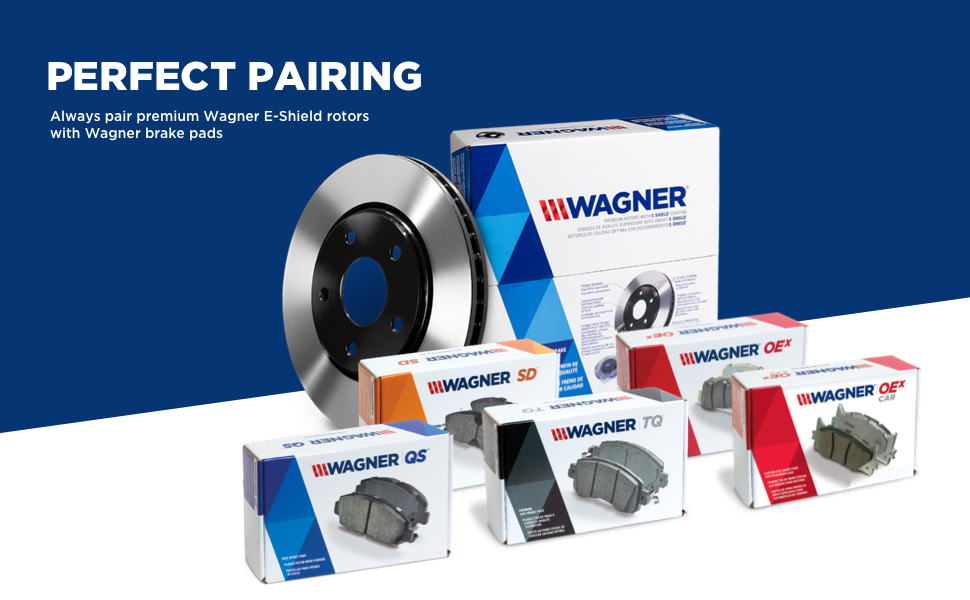 Wagner BC38625 Premium Brake Cable Front