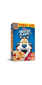 Frosted Flakes Breakfast Cereal, Original, 24 oz (Pack Of 3)
