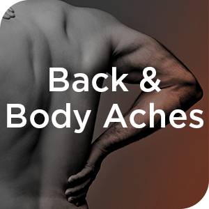 back body aches