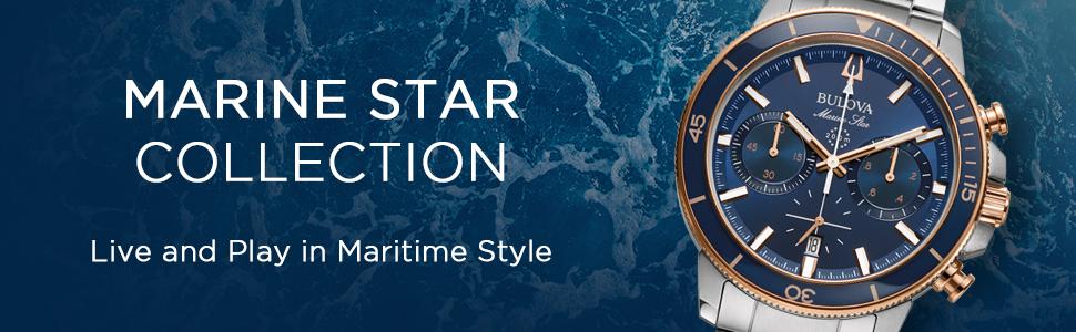 Colección Bulova Marine Star