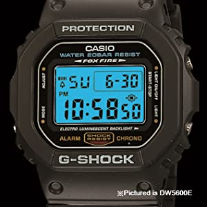 Amazon.com : Casio Wristwatches (Model: DW5600E-1V) : Sport ...