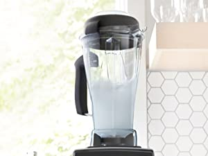 Self Cleaning Blender in Kitchen