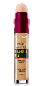 Il Cancella Età, Instant Eraser, Correttore, Occhiaie, Spugnetta,naturale, leggero, colore, honey