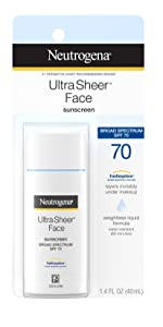 Neutrogena Ultra Sheer Liquid Daily Sunscreen with Broad Spectrum