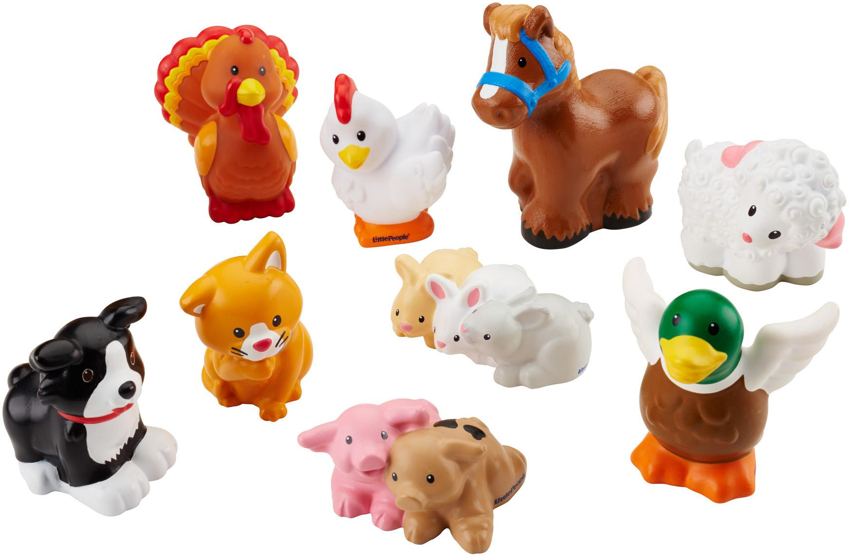 Amazon.com: Fisher-Price Little People Farm Animal Friends