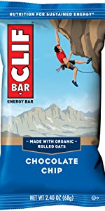 clif bar, cliff bar, energy bar, nutrition, organic, chocolate, nuts, protein bar, healthy snack
