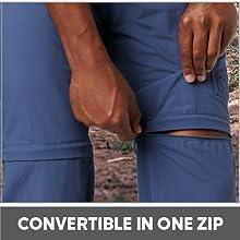 Convertible in one zip