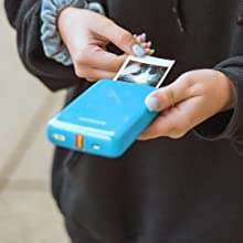 photo printing from blue zip mobile printer