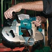 xpb02 action speed cutting metal pipe