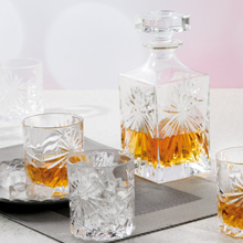 Oasis whiskey decanter, RCR oasis whiskey decanter, decanter for whiskey