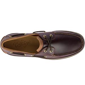 Gold Ultralite ASV Boat Shoe Cognac