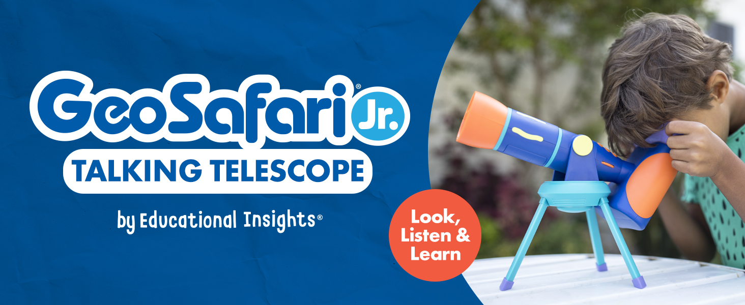 GeoSafari Jr. Talking Telescope