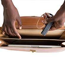 sacoche, sac à main, ordinateur, pochette, ordi, antivol, cuir, beau, traceur, objet de valeur, vol