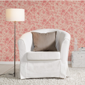 L x B Vliestapete in Altrosa mit floralem Muster im Vintage Stil rasch Tapete 449495 aus der Kollektion Florentine II 10,05m x 53cm