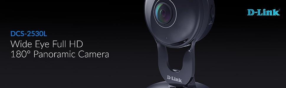 Wide Eye Full HD 180° Panoramic Camera