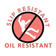 Slip Resistant and Oil Resistant