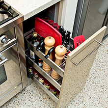 kitchen cupboard pull out