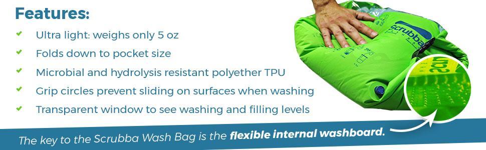 Amazon Com Scrubba Portable Laundry System Wash Bag