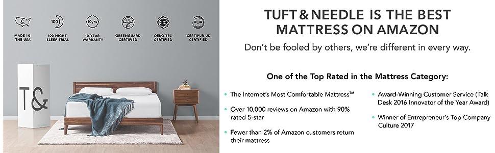 Amazon Com Tuft Amp Needle Queen Mattress With T Amp N Adaptive
