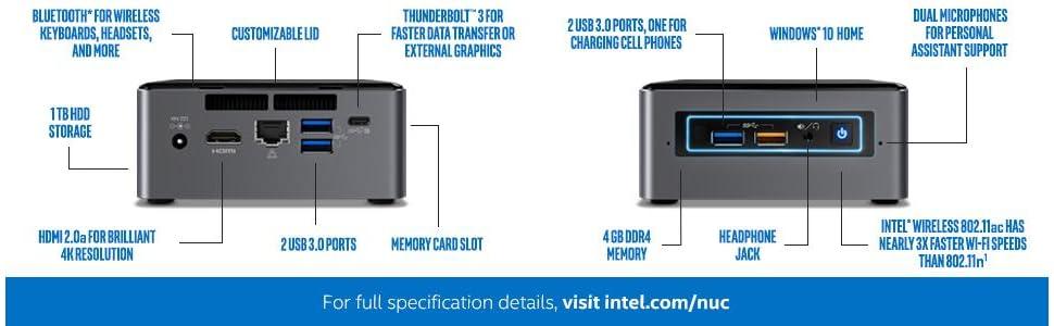Intel, NUC, i5