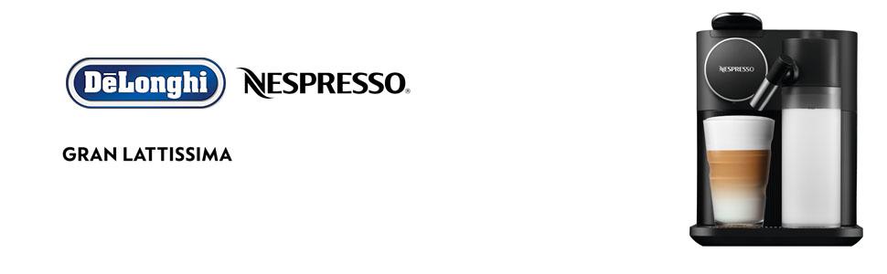 DeLonghi; Nespresso; Gran Lattissima; Capsule Coffee Machine; EN650B