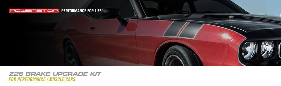 muscle car brakes, performance brakes, performance brake kit, muscle car brake kit