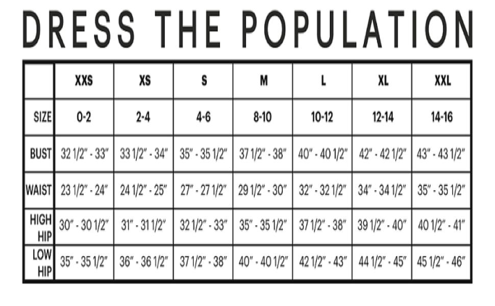 BRAND SIZING GUIDE