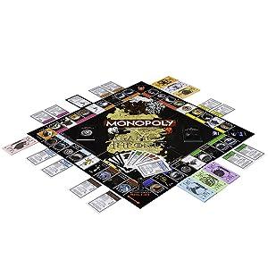 Tablero Monopoly Juego de Tronos