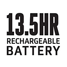 13.5 Hours Rechargeable bettery